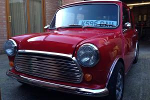 Classic mini cooper full restore rebuild 1.3 spi MK1 12 months mot 6 months tax Photo