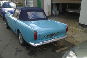 sunbeam alpine 1964 new mot new tax