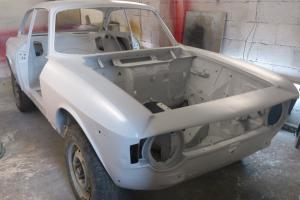 1969 Alfa GT Junior Scalino step-nose project - Ideal GTA replica