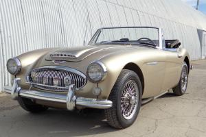 1965 AUSTIN HEALEY 3000 MARK III  BJ8. 2 OWNER TEXAS CAR  .