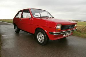 Ford Fiesta MK1. 1.1L ( Amazing condition 15,000 miles from new )