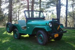 1959 Willys CJ5 Farm Jeep 2nd owner T98 4 speed