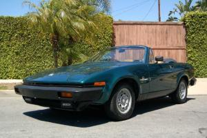 1981 Triumph TR8 - British Racing Green Roadster