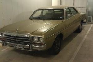 Chrysler Regal 1979 4D Sedan 3 SP Automatic 4 3L Carb