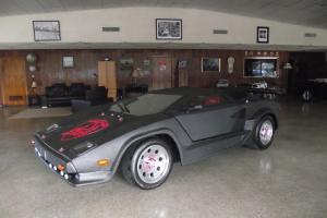 Lamborghini Countach S BATMAN LAMBO KIT ONE OF A KIND CAR VERY RARE AMAZING FAST