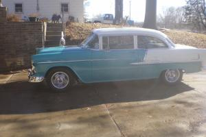 1955 Chevrolet Belair 2 door post