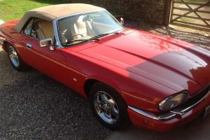 1995 JAGUAR XJS 4.0 CELEBRATION CABRIOLET CONVERTIBLE STUNNING POSS PX Photo