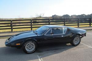 1973 DE TOMASO PANTERA L BALCK BLACK CALIFORNIA CAR 5 SPEED RARE