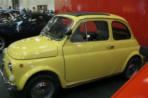 VINTAGE ITALIAN CAR FIAT 500 L 1972 RESTORED AS NEW