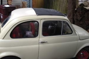 Great running Fiat Nuova, needs TLC with potential to become a $15,000 car