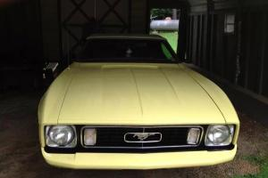 1973 Ford Mustang Base Convertible 2-Door 4.1L
