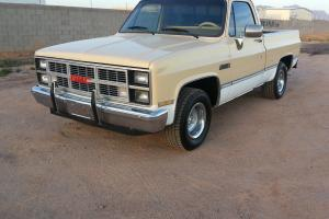 1984 GMC SIERRA CLASSIC 2WD DRIVE SHORT BED  SHORTBED C10 CHEVY GM CHEVROLET