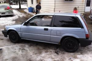 1986 Honda Civic Crx DX hatch back Wagon 2dr 4 speed manual for Sale