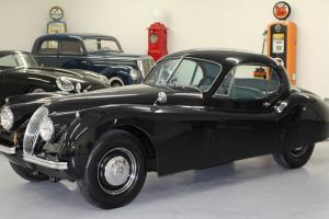 EARLY XK120 FHC CAL BLACK PLATES GARAGED 100% SOLID 90K MILES STORED SINCE 1970 Photo