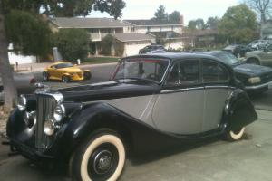 1951 Jaguar Mark V Salon, 3.5 Liter, 3485cc Photo