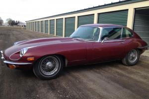 1969 Jaguar XKE Coupe 2-Door 2 plus 2, 4.2L