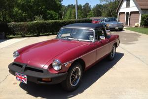 1976 MGB Roadster - Nice Original Convertible Photo