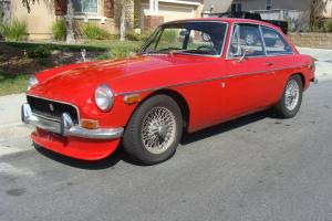 1970 MGBGT w/Overdrive California car Photo