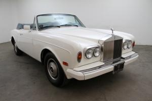 1986 Rolls Royce Corniche Convertible - Original California Car