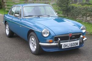 MGB GT V8 1973 Genuine Factory V8 Tax Exempt in April Photo