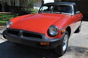 1979 MG MGB New Top New Tires Must See!! Photo