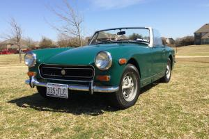 ***Fantastic 1973 MG Midet. Green w/Tan. Runs and Drives Great. In time 4 Spring