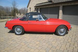 1968 MGC Roadster RARE AUTOMATIC One Of The Best In The USA! MGB MGC-GT MG Photo