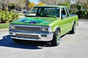 Over 25k soent to build 89 mazda extra cab 350 v-8 auto a/c hulk tribute sweet