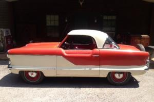 1958 NASH METROPOLITAN  RUNS AND DRIVES GREAT --- SUPER COOL!!!!