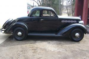 1935 Plymouth 5 window Business Coupe