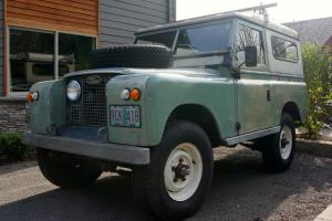 Land Rover Series IIA 88 Station Wagon Diesel Photo
