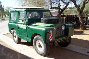 1964 Land Rover Series IIa 88 Safari Top Petrol 4X4 2a 3 Door