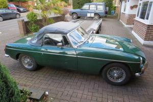 MGB roadster 1962, Photo