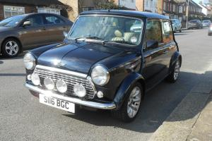 Classic Rover Mini 1.3i - superb condition- midnight blue Photo