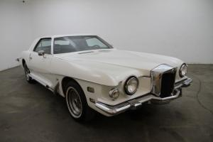 1974 Stutz Blackhawk,white, automatic, excellent orig blue plate California car