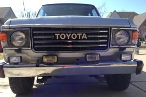 1985 Toyota Land Cruiser LOWEST MILAGE IN THE WORLD