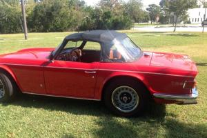 1972 Triumph TR6  2.5L  with Overdrive
