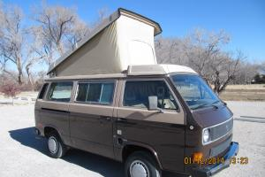 VW Vanagon Westfalia Wolfsburg edition third seat low mile original Santa Fe bus