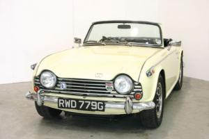 1968 Triumph TR5 PI - Rare Jasmine Yellow - Excellent Example
