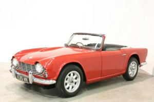 1963 Triumph TR4 - Signal Red With Black Trim - Lovely Example