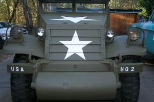 WW2 1943 SCOUT CAR M3A1 MILITARY VEHICLE