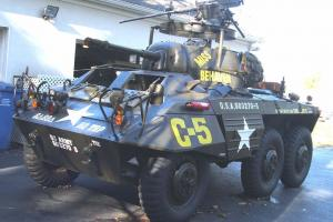 """SCOUT CAR """"GREYHOUND"""" 1943 FORD- BEAUTY-  RESTORED, COPY OF DAD'S WWII VEHICLE"""
