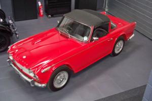 1966 Triumph TR4A IRS Surrey Top - Fully restored Photo