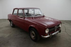 1970 Alfa Romeo Guilia 1300 TI, red, original car needing only minor cosmetics