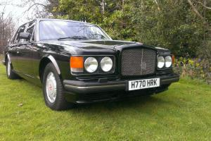 1990 BLACK BENTLEY TURBO R EXTENSIVE SERVICE HISTORY MOT PART EXCHANGE