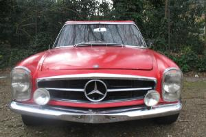 1964 MERCEDES 230SL (LHD) Pagoda, Euro version
