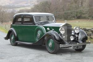 1936 Rolls-Royce 25/30 Thrupp & Maberly Sports Saloon GXM52 Photo