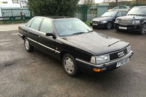 Audi 200 turbo 1989 black stunning car