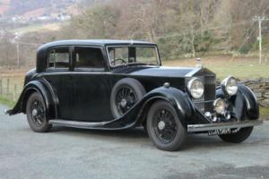 1936 Rolls-Royce 25/30 Freestone & Webb Sports Saloon GUL68 Photo