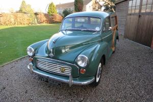 MORRIS MINOR TRAVELLER with Low Miles and SUPERB WOOD!